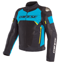 DINAMICA AIR D-DRY JACKET BLACK/FIRE-BLUE/FLUO-YELLOW