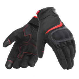 AIR MASTER GLOVES BLACK/RED- Textile
