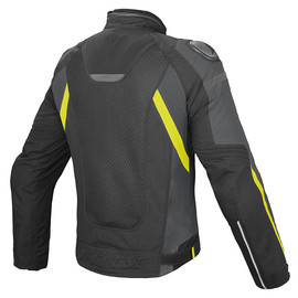 SUPER SPEED D-DRY® BLACK/DARK-GULL-GRAY/FLUO-YELLOW