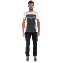 RACER-PASSION  T-SHIRT WHITE/ANTHRACITE