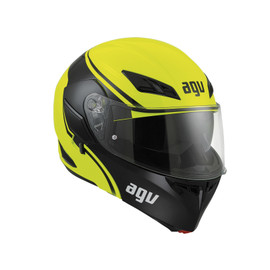 COMPACT ST E2205 MULTI - COURSE YELLOW/BLACK - Flip-up