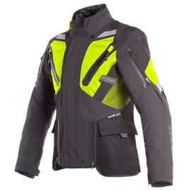 GRAN TURISMO GORE-TEX JACKET BLACK/FLUO-YELLOW- Gore-Tex®