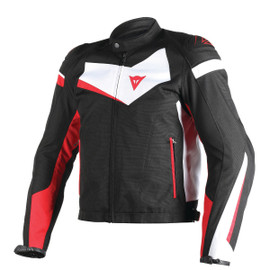 VELOSTER TEX JACKET BLACK/WHITE/RED
