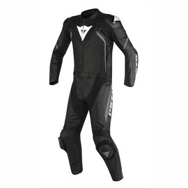 AVRO D2 2PCS PERFORATED SUIT BLACK/BLACK/ANTHRACITE