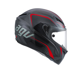 GT-VELOCE AGV E2205 MULTI PLK - TXT BLACK/GUNMETAL/RED