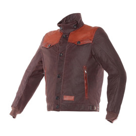 POWEL JACKET TEX DARK BROWN