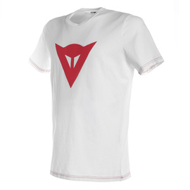SPEED DEMON T-SHIRT WHITE/RED- T-Shirts
