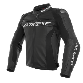 RACING 3 PERF. S/T LEATHER JACKET BLACK/BLACK/BLACK