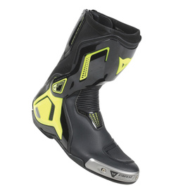TORQUE D1 OUT BOOTS BLACK/FLUO-YELLOW- Leather