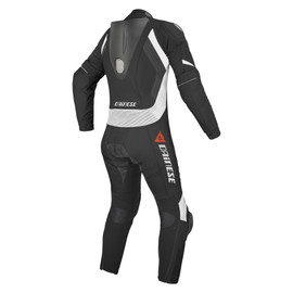 LAGUNA SECA EVO PERFORATED SUIT LADY BLACK/WHITE/WHITE