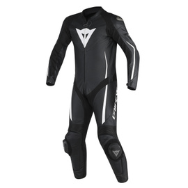 ASSEN 1 PC. PERF. SUIT BLACK/BLACK/WHITE