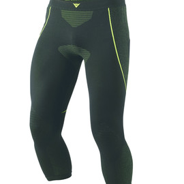 D-CORE DRY PANT 3/4 BLACK/FLUO-YELLOW