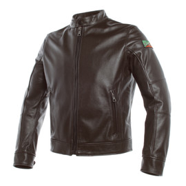 AGV 1947 LEATHER JACKET DARK-BROWN