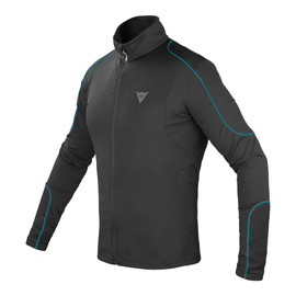 FLEECE MAN FULL ZIP E1 BLACK/BLU-OCEAN