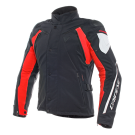 RAIN MASTER D-DRY JACKET BLACK/GLACIER-GRAY/RED