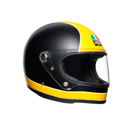 X3000 MULTI ECE2205 - SUPER AGV MATT BLACK/YELLOW