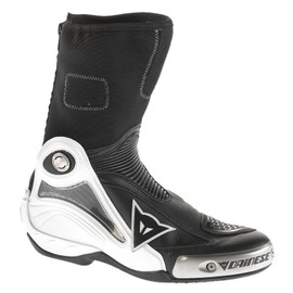 R AXIAL PRO IN BOOTS WHITE/BLACK- Leather