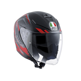 K-5 JET E2205 MULTI - URBAN HUNTER MATT BLACK/RED - Promozioni