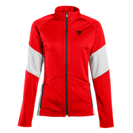 HP2 MID FULL ZIP LADY HIGH-RISK-RED/VAPOR-BLUE