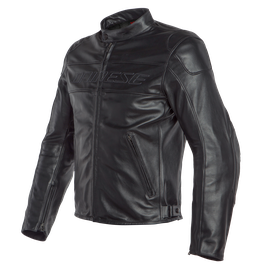 BARDO LEATHER JACKET BLACK
