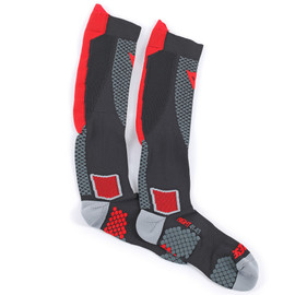 D-CORE HIGH SOCK BLACK/RED