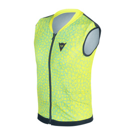 FLEXAGON WAISTCOAT KID VIBRANT-YELLOW/BRIGHT-AQUA- Rückenschutz