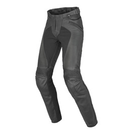 PONY C2 LADY LEATHER PANTS BLACK