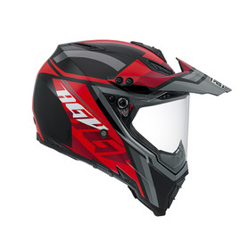 AX-8 DUAL EVO E2205 MULTI - KARAKUM BLACK/GUNMETAL/RED