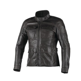 RICHARD LEATHER JACKET BLACK