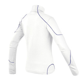 THERMAL LADY FULL ZIP E1 WHITE/DEEP-LAVENDER