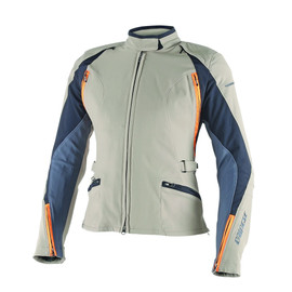 ARYA LADY D-DRY® JACKET WARM-SAND/EBONY/SUN-ORANGE