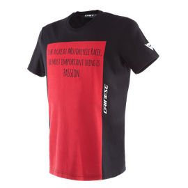 RACER-PASSION  T-SHIRT BLACK/RED