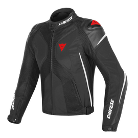 SUPER RIDER D-DRY JACKET BLACK/WHITE/RED