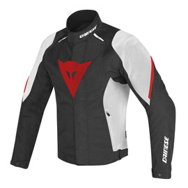 LAGUNA SECA D1 D-DRY® JACKET BLACK/WHITE/RED