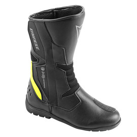 TEMPEST D-WP BOOTS BLACK/FLUO-YELLOW