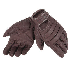 ELLIS MAN GLOVES DARK BROWN