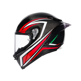 PISTA GP R E2205 MULTI - STACCATA CARBON/RED - Pista GP R