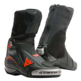 AXIAL D1 BOOTS BLACK/RED-FLUO- Bottes