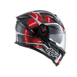 K-5 S E2205 MULTI - HURRICANE BLACK/RED/WHITE