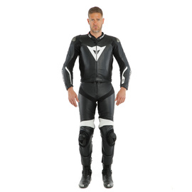AVRO D-AIR 2PCS SUIT BLACK/BLACK/WHITE- Deux Pieces