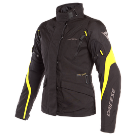 TEMPEST 2 D-DRY LADY JACKET BLACK/BLACK/FLUO-YELLOW- D-Dry®