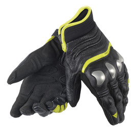 X-STRIKE GLOVES BLACK/YELLOW-FLUO