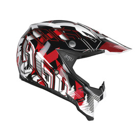 AX-8 EVO E2205 MULTI - NOFOOT WHITE/RED