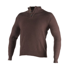 CONNERY SWEATER DARK BROWN