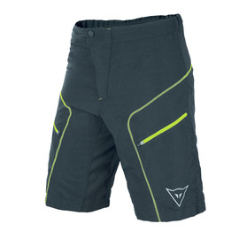DRIFTER SHORT BLACK/FLUO-YELLOW