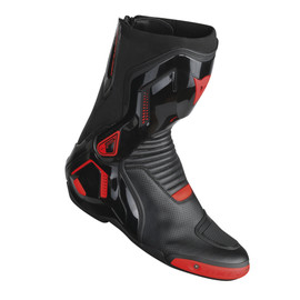 COURSE D1 OUT AIR BOOTS BLACK/RED-FLUO