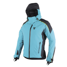 ALTA ZERO D-DRY® JACKET BRIGHT-AQUA/BLACK/TEAM-GREEN