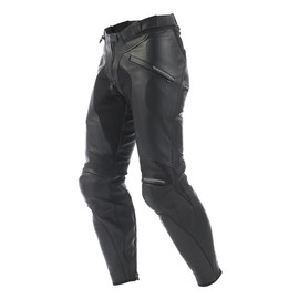 ALIEN LEATHER PANTS BLACK