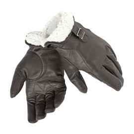 FREEMAN GLOVES DARK BROWN
