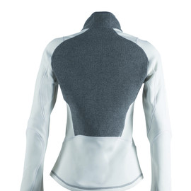 BERNICE SWEATER LADY STEEL-GRAY/WHITE